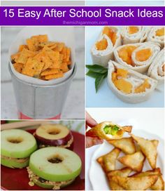 These after school snack ideas are easy to make and so delicious. Your kids will love them in between meals, while doing homework, or even at school.