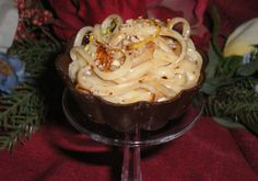 Sweet Pasta for Dinner or Dessert May have to try. Never thought of dessert pasta Rice Recipes, Pasta Recipes, Dessert Recipes, Dinner Recipes, Recipies, Dessert Pasta, Chocolate Shavings, Chocolate Flavors, Dessert Chocolate