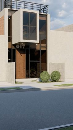 Minimal House Design, Modern Small House Design, Modern Exterior House Designs, Dream House Exterior, 2 Storey House Design, Bungalow House Design, House Front Design, Japan House Design, Japan Modern House