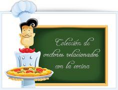 vectores cocina alimentos comida