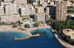 Aerial photo of Monaco