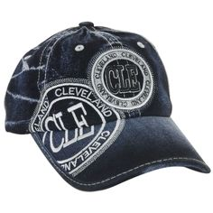 CPCL06 Cap - Cleveland Ohio with CLE Stamp DENIM