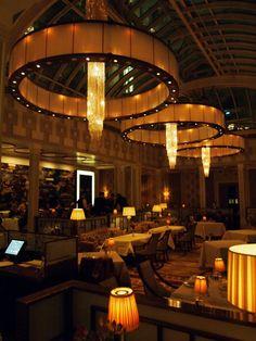 The Lanesborough Hotel #London #Restaurant #interiors #dinner