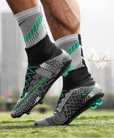 Mint custom  would you wear these boots if they were real?  : @mcew_football / @armandinho10_football
