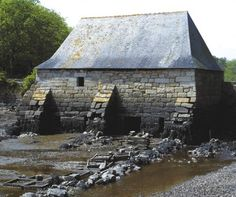 Moulin à marée du Hénan, 1426,  Névez. Finistere   Brittany