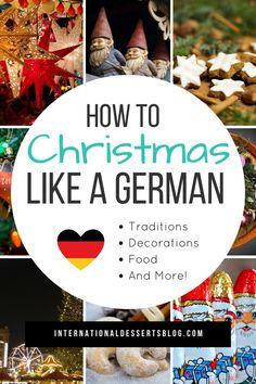 German Christmas Food, German Christmas Traditions, Christmas In Germany, German Christmas Markets, What Is Christmas, Christmas Sweets, Holiday Traditions, Winter Christmas, Christmas Holidays