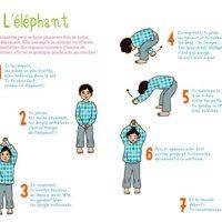 L'éléphant (relaxation, yoga maternelle)