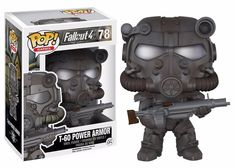 This is a Fallout POP Power Armor Vinyl Figure that is produced by Funko. Fans of Fallout are sure to be excited by this release. Recommended Age: Condition: Brand New and Sealed Dimensions: X 1 Funko Fallout POP Power Armor Vinyl Figure Figurines D'action, T 60 Power Armor, Otaku, Fallout Game, Fallout Funny, Harry Potter, Pop Toys, Darth Vader, Fandom