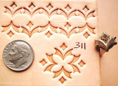 RARE VINTAGE 1980 Kelly Midas Leather Stamp Craft Tool 311 LARGE VERSION