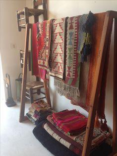 Awesome rug display