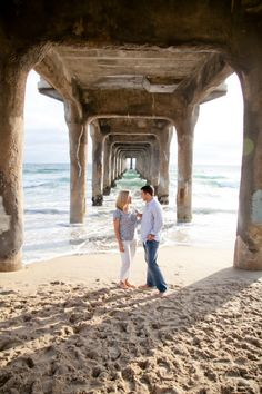 engagement session at the beach. Photo by Allison Maginn.