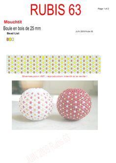 Boule en bois by Rubis63