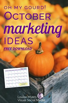 Need October marketing ideas? Don't miss this colorful opportunity to market your business. Instagram Design, Instagram Tips, Social Media Content, Social Media Tips, Marketing Calendar, Marketing Ideas, Media Marketing, Content Marketing, Instagram Marketing Tips