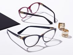 fb6474e57a A modern twist for a modern look with Metal Twist frames from Vogue Eyewear.  Optical