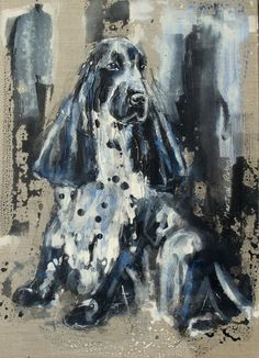 English Cocker Spaniel, Dog Paintings, Dog Art, Martial, Animal Pictures, Robin, Spaniels, Awesome Art, Pets