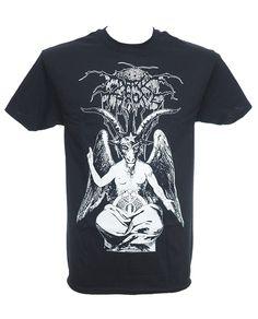 Dark Throne - Baphomet Heavy Metal Fashion, Metal Shirts, Baphomet, Herren T Shirt, Alternative Fashion, Menswear, Black Death, Dark, Gothic
