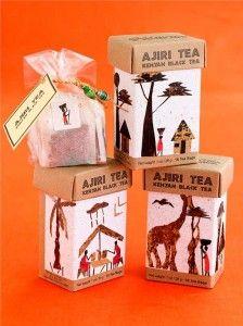 Ajiri Tea, Té Negro de Kenia.