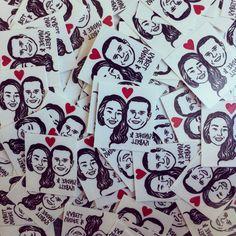 Custom Face Tattoo @lilimandrill www.lilimandrill.fr #etsy #etsygifts #etsywedding #wedding #mariage #bride #diy #couple #stamp #rubberstamp #shopsmall #handmade #gift #valentine #valentinegift #valentinesday #tattoo #temporarytattoo #favor #weddingfavor #etsymatch #etsylove #engagement