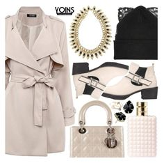 """Yoins I"" by pastelneon ❤ liked on Polyvore featuring Christian Dior, Silver Spoon Attire, Valentino, Kendra Scott, Alex and Ani, women's clothing, women's fashion, women, female and woman"