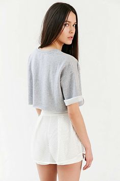 BDG Andy Super Cropped Top - Urban Outfitters