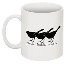 Music  Three Little Birds Mug by nerdmugs on Etsy, $20.00 - Bob Marley, Rasta, Don't Worry About a Thing