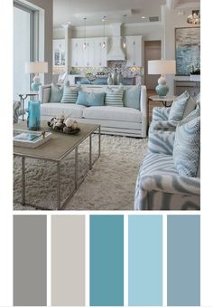 Living room color schemes ideas will help you to add harmonious shades to your home which give variety and feelings of calm, You Need to Try This Year! Home Living Room, Living Room Color Schemes, Paint Colors For Home, Living Room Decor, Home Decor, Bedroom Colors, Interior Design, Bedroom Color Schemes, Living Decor