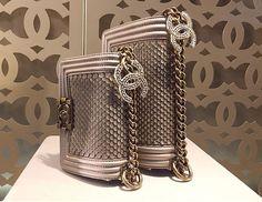 Chanel Metallic Boy Flap Bag Cruise 2015