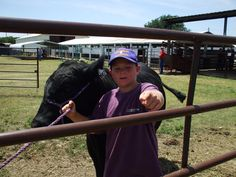 One of our Registered Black Angus steers