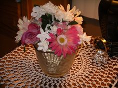From Marlas Musings on FB Bucket of Fun is an old fashioned ice bucket with posies that won't wilt! See FB to buy.