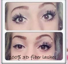 3D Fiber Lash Mascara- Provides 300% increase to your natural lashes- #Younique This stuff works so well! I love it!