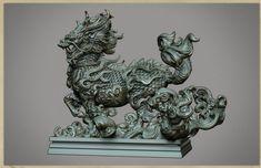 ZBrush sketchbook of Zhelong Xu - Page 11