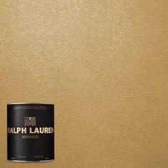 Ralph Lauren Golden Buttermilk Metallic Specialty Finish Interior   The Home  Depot