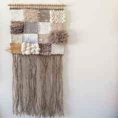Woven wall hanging, MEDIUM tapestry, weaving - 'Penelope' by Tat Georgieva