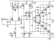 Circuito Amplificador Subwoofer Transistorizado de 200