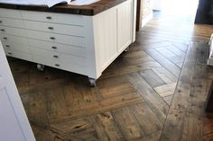 Antique Floors provide you with the best parquetry oak flooring as well as hardwood country plank of many types. Wood, Storage, Your Design, Cabinet, Flooring, Furniture, Home Decor, French Oak, Basket