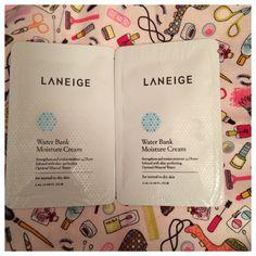 Laneige water bank cream.