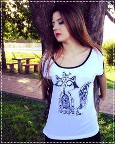 Frika y el zorrito del principito Remera Ada #frika #amor #fashion #diseñoindependiente #love #girl #photooftheday #fun #sale