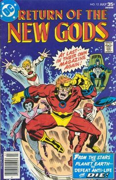 """This was my first introduction to Jack Kirby's New Gods.  I had no idea who they were, so some of the """"return"""" stuff flew past me."""