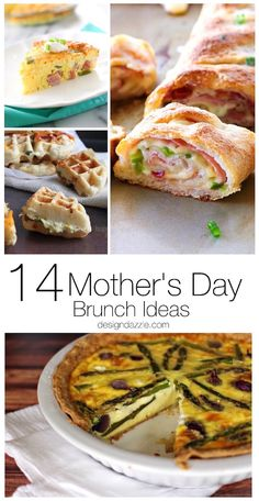 I've rounded up 14 of the yummiest recipes and even some fun decorating ideas that are sure to please moms everywhere! Let's celebrate these moms! | Design Dazzle
