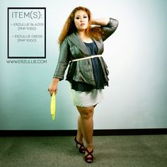 "Erzullie Fierce Plus Size Fashion Philippines: PLUS SIZE STYLE: #OOTD ""BLAZER BABE"""