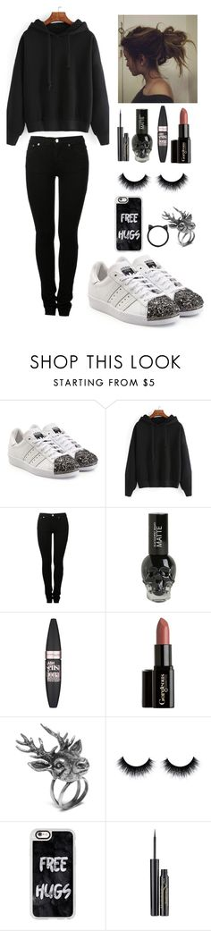 """""""Sin título #390"""" by rocio06morales ❤ liked on Polyvore featuring adidas Originals, MM6 Maison Margiela, Maybelline, Mulberry, Casetify, Elizabeth Arden and Kate Spade"""