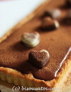 Bisous À Toi: Forrest Gump Chocolate Tart