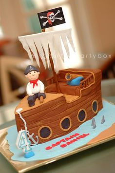 Razzle Dazzle Party Box: Theme Birthday Party: Ahoy! It's a Pirate Party!
