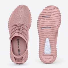 Yeezy Boost 350 All Pink Women Sneakers Sock Shoes 186417c9fd