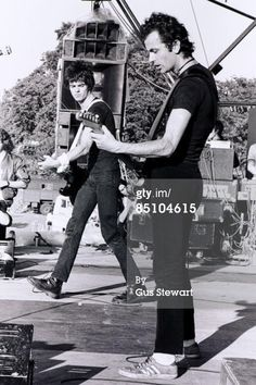 The Stranglers' frontmen, Hugh Cornwell (guitar, vocals) & Jean-Jacques Burnel (vocals, bass) [pinned on June 17, 2012]