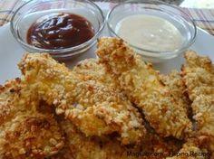 Fűszeres csirkefalatkák, a sütőből! Sokkal fincsibb mint a rántott hús, ez a panír csodás!