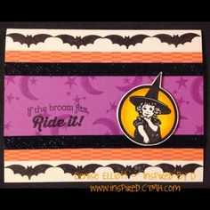 Inspired By D: Art with an Attitude Blog Hop - #ScaredyCat #D1605HalloweenGreetings #ShinHan
