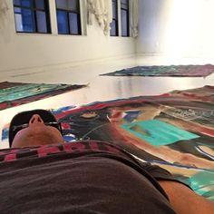 Painting Shavasana #gallerymarchi #marchiart #gallery #artist #artgallery #painting #acrylic #abstractart #abstract #photooftheday #comtemporaryart #picoftheday #instaart  #artoftheday #shavasana #yoga #yogaeverywhere #yogalove #yogaeverydamnday