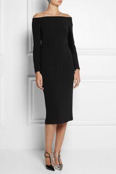 Burberry Prorsum|Cutout crepe dress|NET-A-PORTER.COM
