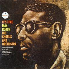 "Max Roach - It´s Time - Impulse! A-16 [12"" LP] 1962 Design - Robert Flynn // Painting- Prophet (Richard Jannings)"